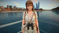 Dead Or Alive 5 - Hitomi (Costume 5) v3 для GTA San Andreas