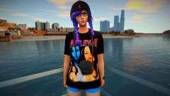 Fortnite - Splatterella Fashion Casual V2 для GTA San Andreas