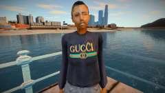 Модный скин - sbfyst для GTA San Andreas