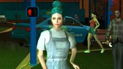 Симпатичная девочка Лара для GTA San Andreas