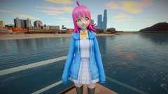 Rinna Tennoji (Love Live Nijigasaki) v2 для GTA San Andreas
