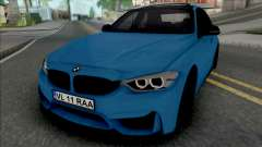 BMW F30 320d (M3 Style Bumpers) для GTA San Andreas