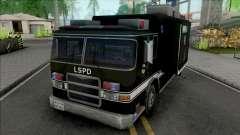 Swat Team Truck Container для GTA San Andreas