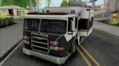 Operational Mobile Base Truck PMCE для GTA San Andreas