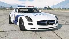 Mercedes-Benz SLS 63 AMG (C197) 2010〡Chinese Police для GTA 5