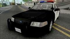 Ford Crown Victoria 2011 CVPI LAPD v2
