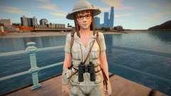 Dead Or Alive 5 - Hitomi (Costume 5) v1 для GTA San Andreas