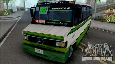 Mercedes-Benz LO 809 Skin L8 Temuco для GTA San Andreas