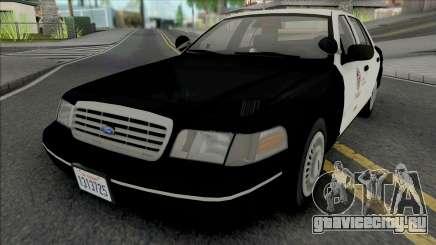 Ford Crown Victoria 1998 CVPI LAPD GND v2 для GTA San Andreas