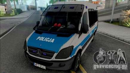 Mercedes-Benz Sprinter Policya OPP KSP для GTA San Andreas