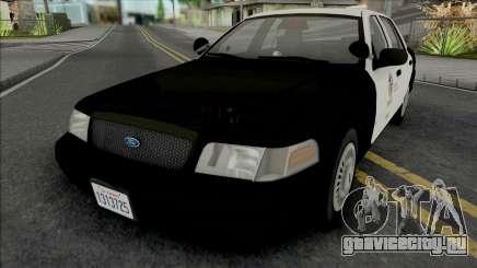 Ford Crown Victoria 2000 CVPI LAPD GND v2 для GTA San Andreas