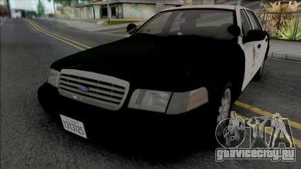 Ford Crown Victoria 2007 CVPI LAPD GND v2 для GTA San Andreas