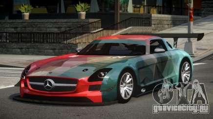 Mercedes-Benz SLS GT-I S4 для GTA 4