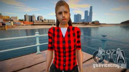 Wfyclot в симпатичной одежде для GTA San Andreas