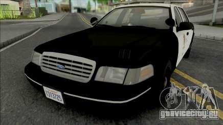 Ford Crown Victoria 1998 CVPI LAPD GND для GTA San Andreas