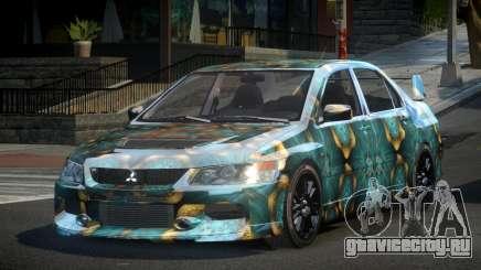 Mitsubishi Evo IX BS-U S6 для GTA 4