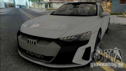 Audi e-Tron GT для GTA San Andreas