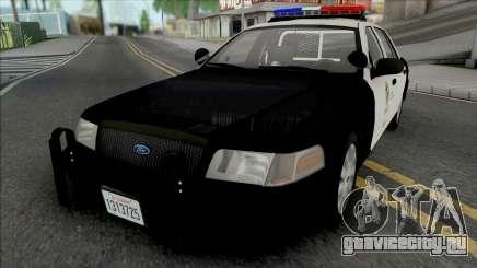 Ford Crown Victoria 2011 CVPI LAPD v2 для GTA San Andreas