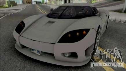 Koenigsegg CCX v2 для GTA San Andreas