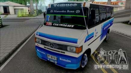 Mercedes-Benz LO-814 Cuatro Ases Leyenda v2 для GTA San Andreas