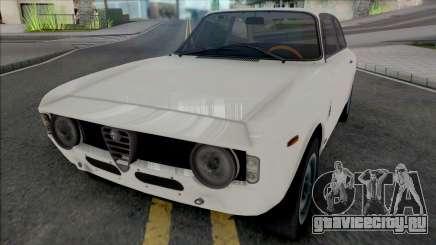 Alfa Romeo Giulia Sprint GTA 1965 для GTA San Andreas