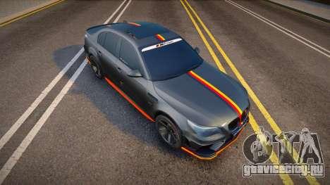 BMW M5e60 Deutisch Kamo для GTA San Andreas