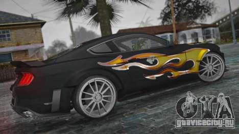 Ford Mustang Shelby GT350 Razor Version для GTA San Andreas
