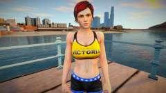 Dead Or Alive 5 - Mila (Costume 4) 1 для GTA San Andreas