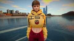 DOA Hitomi Fashion Casual DLC Los Santos Tuner 1 для GTA San Andreas