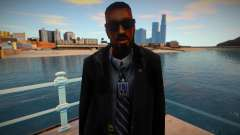 New FBI skin 1 для GTA San Andreas