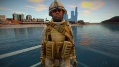 Call Of Duty Modern Warfare 2 - Desert Marine 9 для GTA San Andreas