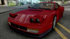 Ferrari Testarossa 1988 для GTA San Andreas