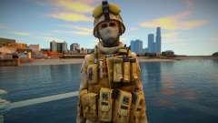 Call Of Duty Modern Warfare 2 - Desert Marine 14 для GTA San Andreas