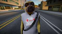 Fortnite - Doggo (Import Export Bulldog v3) для GTA San Andreas