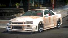 Nissan Skyline R34 G-Tuning S7 для GTA 4