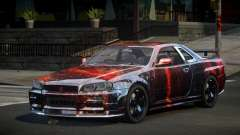 Nissan Skyline R34 GS-U S6 для GTA 4