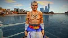 Dead Or Alive 5 - Brad Wong (Costume 2) 2 для GTA San Andreas