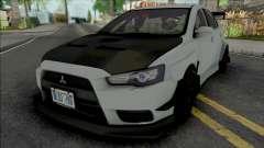 Mitsubishi Lancer Evolution X (Tuning) для GTA San Andreas