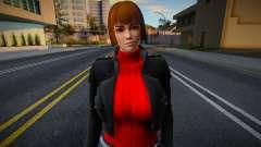DOA Red Jacket Noshades для GTA San Andreas