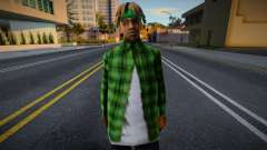 FAM2 new skin для GTA San Andreas