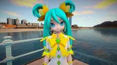 PDFT Hatsune Miku Fairy для GTA San Andreas
