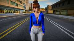 Kasumi Casual v14 (good model) для GTA San Andreas