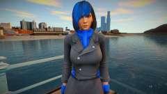 Momiji Blue like a Ninja 2 для GTA San Andreas