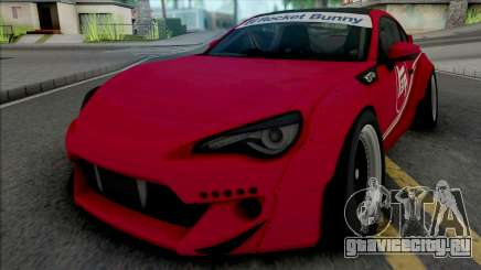 Toyota GT86 Red для GTA San Andreas