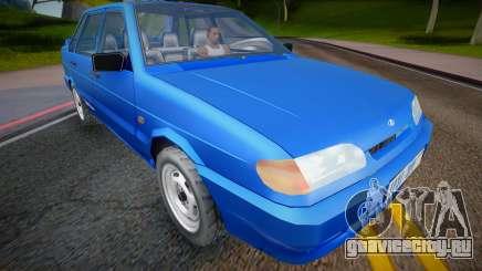2001 VAZ 2115 (Low Poly) для GTA San Andreas