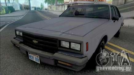 Chevrolet Impala 1986 LAPD Unmarked для GTA San Andreas