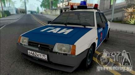 ВАЗ-21099 Московская Милиция 90-х для GTA San Andreas