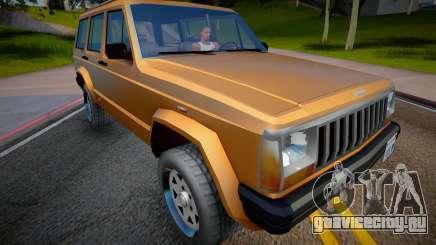Jeep Grand Cherokee 1998 (Low Poly) для GTA San Andreas