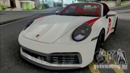 Porsche 911 Targa 4S 2022 для GTA San Andreas