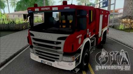 Scania P450 Pompierii для GTA San Andreas